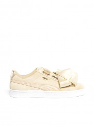 adidas / Suede heart safari sneaker beige