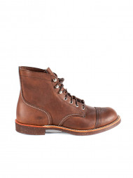RED WING SHOES / Iron ranger boots brown