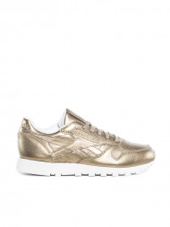 Reebok CLASSIC / Classic leather sneaker metal champagne