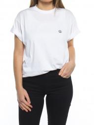 ROCKAMORA / 002 Peace t-shirt white black
