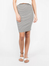 WOOD WOOD / Joy skirt white black stripes