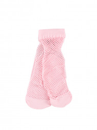 DENHAM / Wanda net socks rose