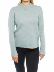 WOOD WOOD / Brook knit pullover silver blue