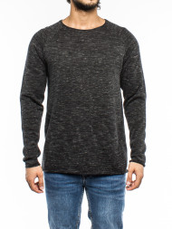 SELECTED HOMME / Shxclash crew neck pirate black