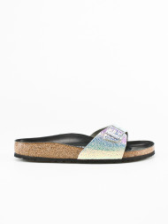 / Madrid sandals ombre pearl black