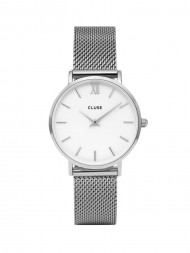 CLUSE / Minuit watch mesh silver