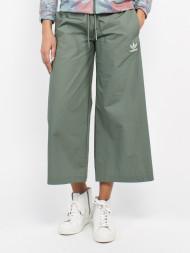 VILA / Pastel wide pants stormy green