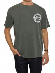 TOMMY HILFIGER / Graphic tee olive