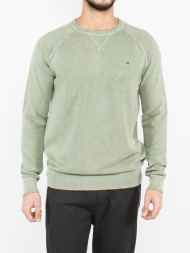 SELECTED HOMME / Piqué pullover olive