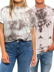ROCKAMORA / 002 Unisex t-shirt batik brown