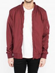 ALPHA INDUSTRIES / Light bomber jacket burgundy