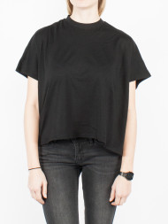 NIKE / Overlap turtleneck t-shirt black
