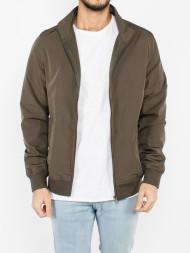 URBAN CLASSICS / Nylon training jacket dark olive