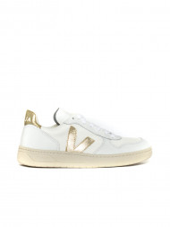 SUPERGA / V10 sneaker white gold
