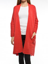 American Vintage / Vac cardigan kiss red