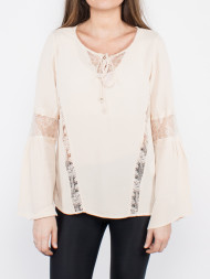 SECOND FEMALE / Viphase blouse shifting sand