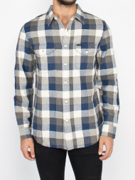 SELECTED HOMME / Worker shirt washed blue