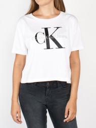 Calvin Klein / Teca crop top bright white