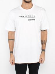 ALPHA INDUSTRIES / Equipment logo t-shirt white