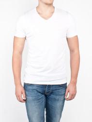 SAMSØE & SAMSØE / V neck t-shirt white