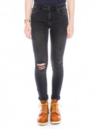 WHY7 / Kate jeans destroyed black