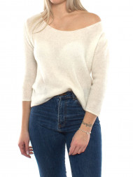 SECOND FEMALE / Wox pullover blanc