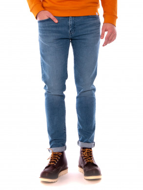512 slim taper fit jeans cedar lt