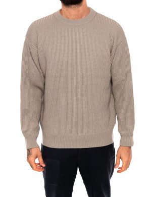 Knitted jumper stratus gry