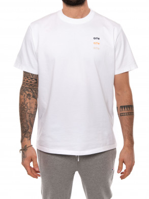 Tomi multi logo t-shirt white