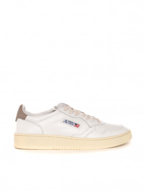 Medalist mens sneaker wht taupe