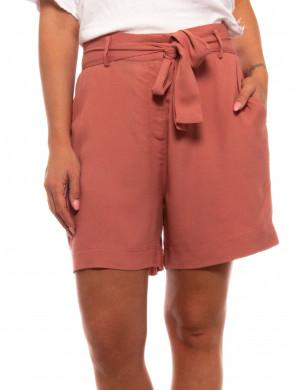Kimmy shorts  lt mahagony