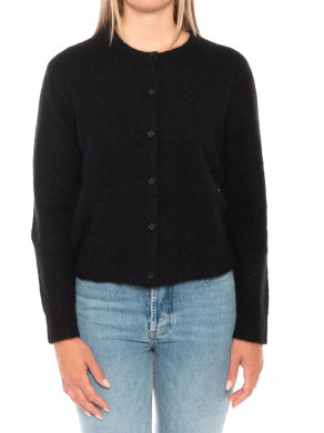 Nor short cardigan black