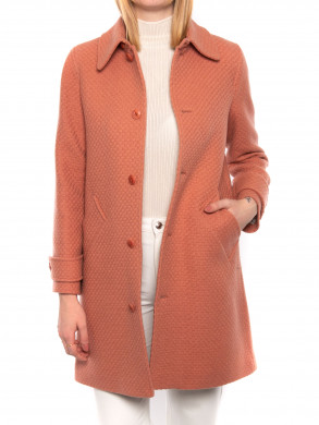 Suzanne coat old pink
