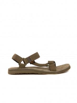Original universal leather sandals olive