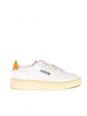 Medalist wmns sneaker white golden yellow