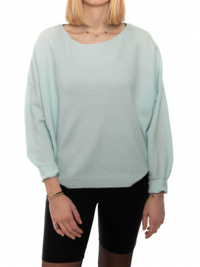 Dam pullover 225 baby blue