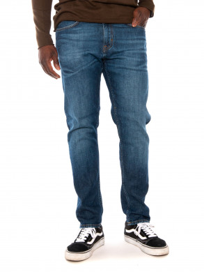 Cooper tapered jeans mid blue