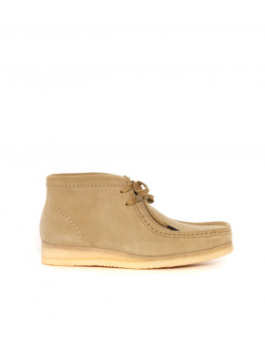 Wallabee boots maple suede
