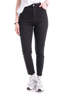 Nora stretch jeans washed blk