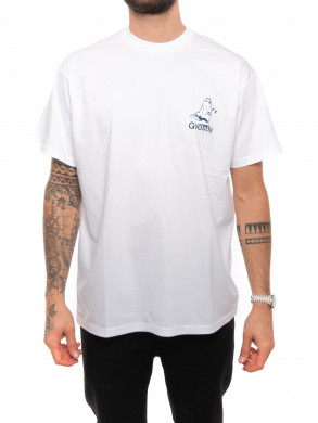 S/S ghostly t-shirt white