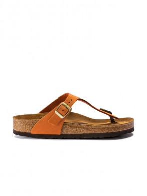 Gizeh sandals pecan nubuck