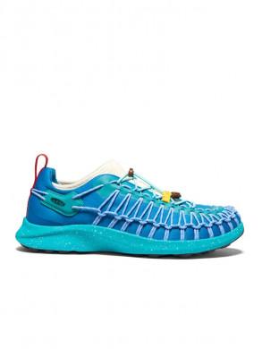 Uneek men sneaker turquoise
