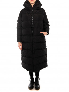 Big cloud coat black