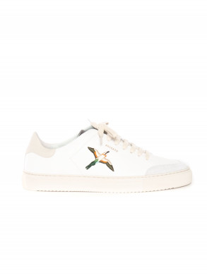 Clean 90 bird sneaker white cremino