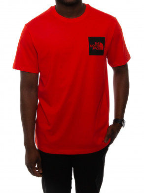 Fine t-shirt fiery red