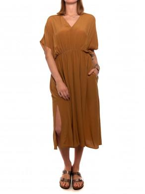 Andina long dress dijon