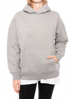 Atelier hoodie grey mel