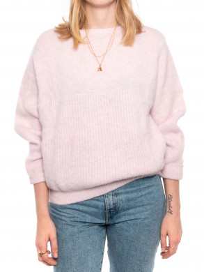 East 18b pullover baby lilas
