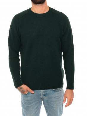Nathan pullover dk green