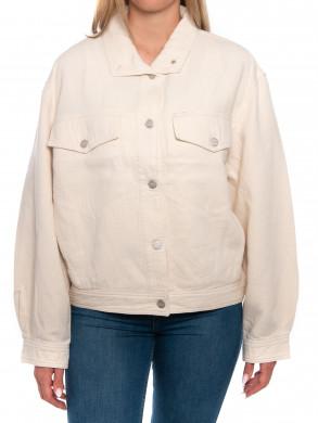 Island linen jacket white